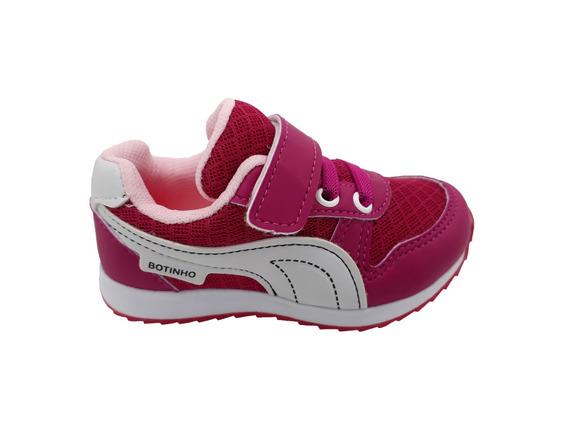 Tênis Infantil Botinho Menina 764ha - Rainha Calçados