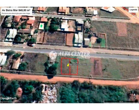 Terreno À Venda, 848 M² Por R$ 98.000 - Jardim Buriti Sereno - Aparecida De Goiânia/go - Te0135