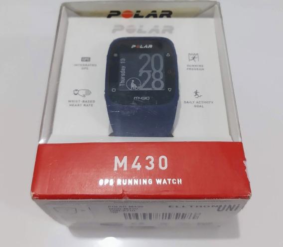 Relógio Polar M430 Com Gps E Monitor Cardíaco (vitrine)