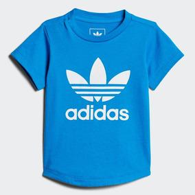 Playera adidas Bebé Originals Azul