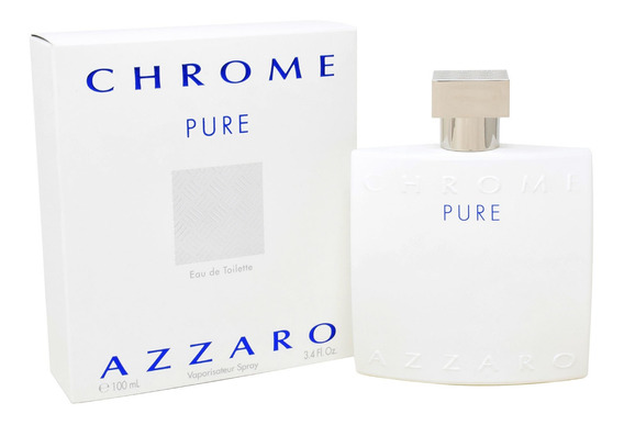 Azzaro Chrome Pure 100 Ml Edt Spray De Azzaro