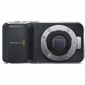 Blackmagic Pocket Cinema Camera + 3 Baterias + Lente