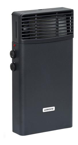 Calefactor Eléctrico Longvie Mod. Ee2k - 1000/2000 W Grafito