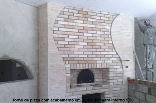 Forno A Lenha E Gas Pizza Flex, Alto Rendimento Lenha