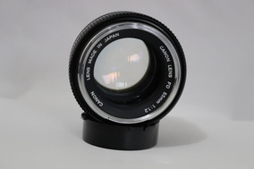 Lente Objetiva Canon Fd 55mm F1.2 Fujinon Pentax Takumar