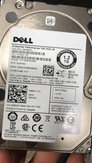 Hd Dell 1.2tb Sas 10k 6g 2.5 St1200mm0088