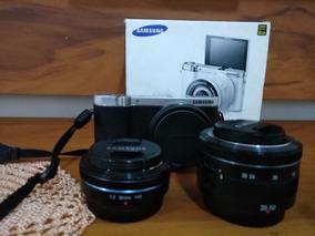 Câmera Samsung Nx3000 C/ Lente 20-50 E 30mm 2.0