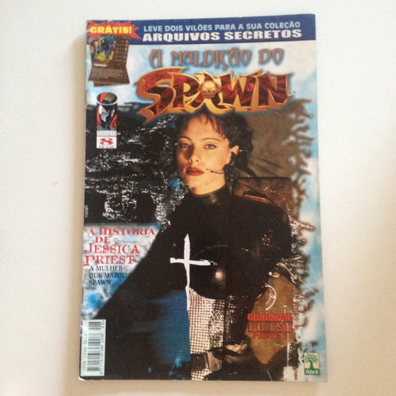 Revista A Maldição Do Spawn 8 A História De Jessica Priest .