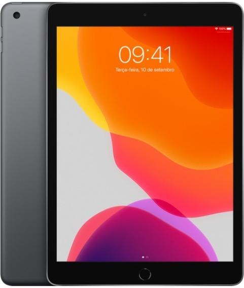 Apple iPad 6ª Geração 2018 32gb Cinza Esp. + Capa E Película