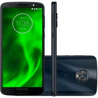 Celular Motorola Moto G6 Dual Chip 32gb 4g + 3 Super Brindes
