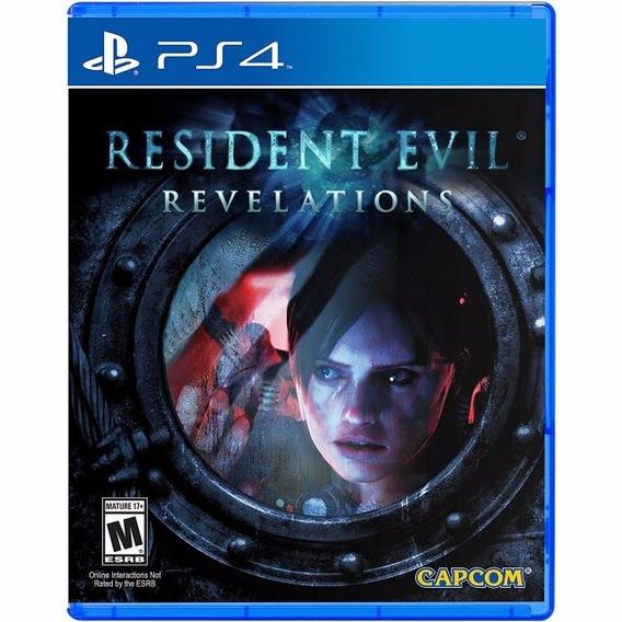 Resident Evil Revelations Ps4 Lacrado