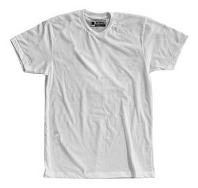 Camiseta Lisa Branca Branco Preço Atacado Roupas Tshirt
