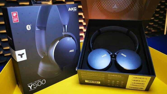 Fone Bluetooth On Ear Y500 Akg Nf Novo Original Fortaleza