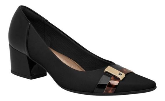 Sapato Feminino Salto Baixo Piccadilly 744098-7