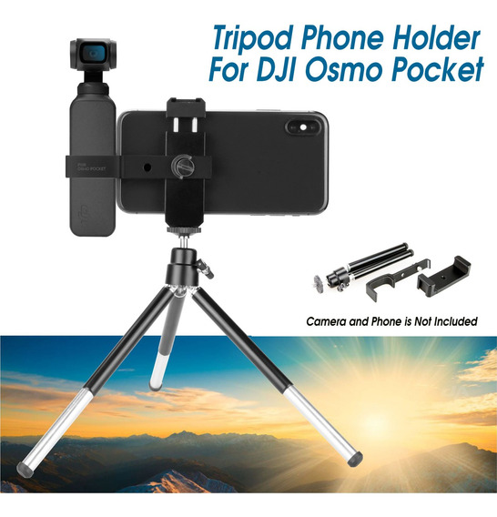 Para Dji Osmo Pocket Camera Gimbal Tripé Suporte Suporte Sup