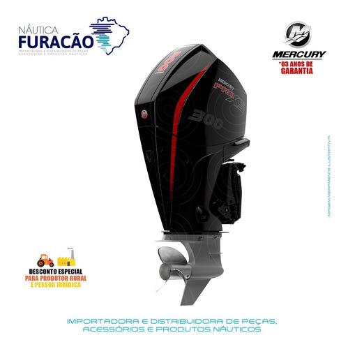 Motor De Popa Mercury 4 Tempos 300hp L V8 Dts Pro Xs