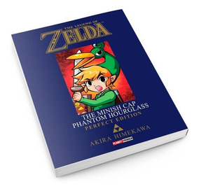 Mangá The Legend Of Zelda The Minish Cap Phantom Hourglas 04