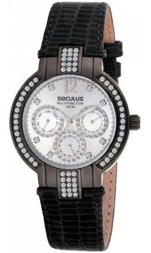 Relógio Seculus Feminino 24705lpsgsr1 Preto