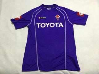 Jersey Fiorentina Italia Lotto 2006 Original Hecha En Rumani