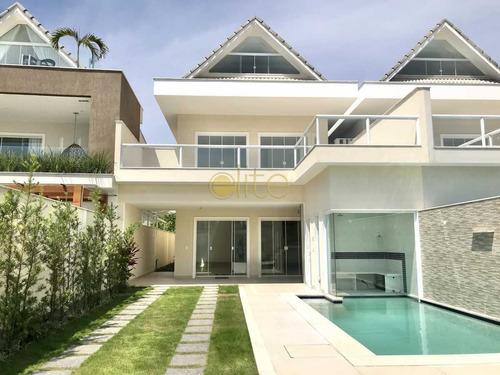 Casa Em Condomínio-à Venda-recreio Dos Bandeirantes-rio De Janeiro - Ebcn40244