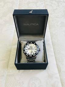 Relógio Nautica Em Aço