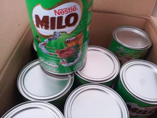 Milo, Chocolate En Polvo, 10 Latas De 500 Gramos,