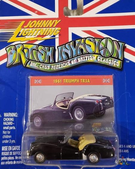 Auto Johnny Lightining 1961 Triumph Tr3a