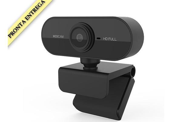 Full Hd 1080 Webcam Usb Mini Câmera De Visão 360º Microfone
