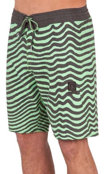 Boardshort Hombre Volcom Short Mag Vibes Stoney Png Original