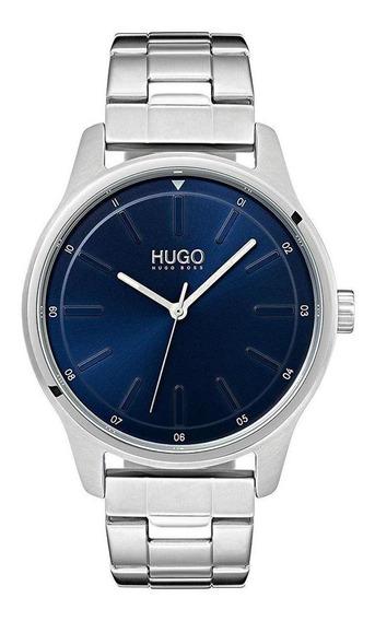 Reloj Hugo By Hugo Boss Caballero Color Gris 1530020 - S007