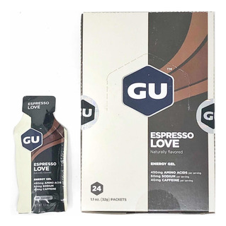 Caja De Geles Gu Sabor Espresso Love (24 Piezas)