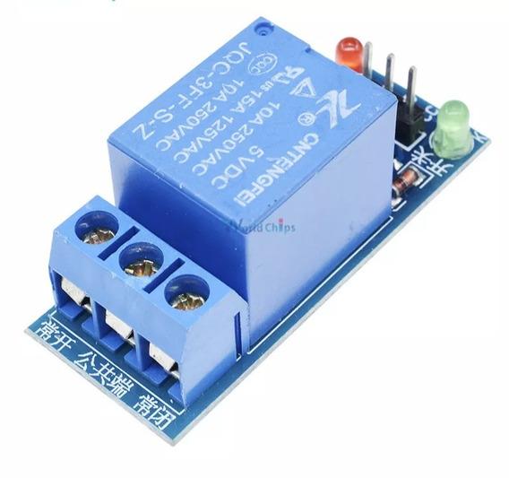 4 Modulo Rele 1 Canal 5v Automação Arduino Pic Raspberry Pic