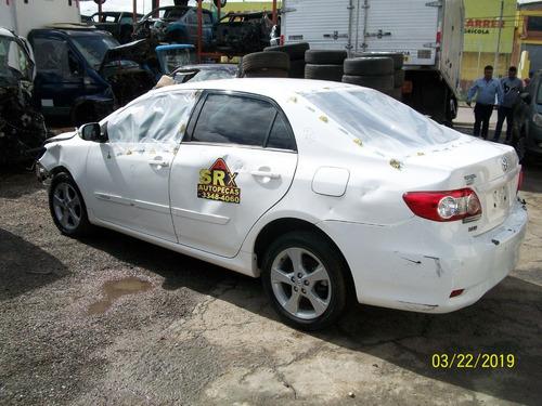Sucata Toyota Corolla Xei 2.0 16v Flex Aut 2012 Motor Peças