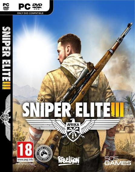 Sniper Elite 3 Pc/notebook Original Frete Gratis!