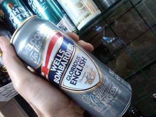 Cerveza Wells Bombardier 500cc Importada Inglaterra