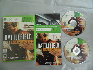 Battlefield Hardline Para Xbox 360