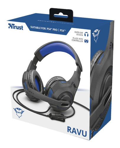 Trust Gaming Auricular Gxt 307 B Ravu Ps4 Gamer