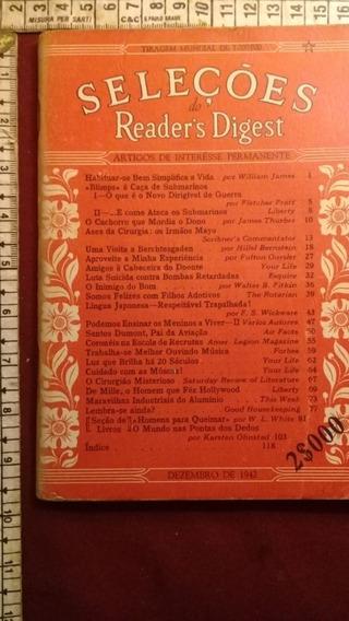 Revista Seleções Nº11 De Dezembro De 1942 Ww2