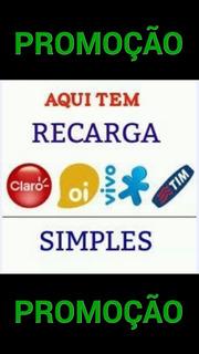 Recarga De Celular, Credito Online. Oi, Tim, Claro E Vivo