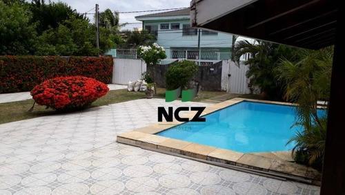 Casa Com 5 Dormitórios À Venda, 271 M² Por R$ 820.000,00 - Vilas Do Atlântico - Lauro De Freitas/ba - Ca3224