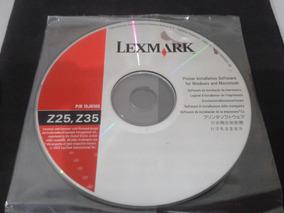 Software Original: Impressora Lexmark Z25 / Z35 # Muito Novo