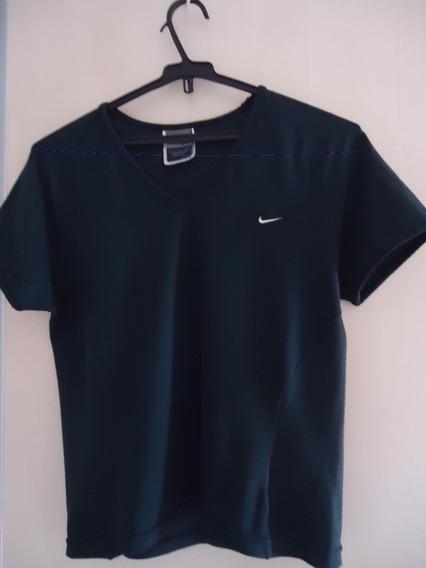 Camiseta Feminina Fitness Nike M Usada