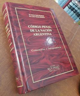 L8969. Código Penal De La Nación Argentina. Comentarios