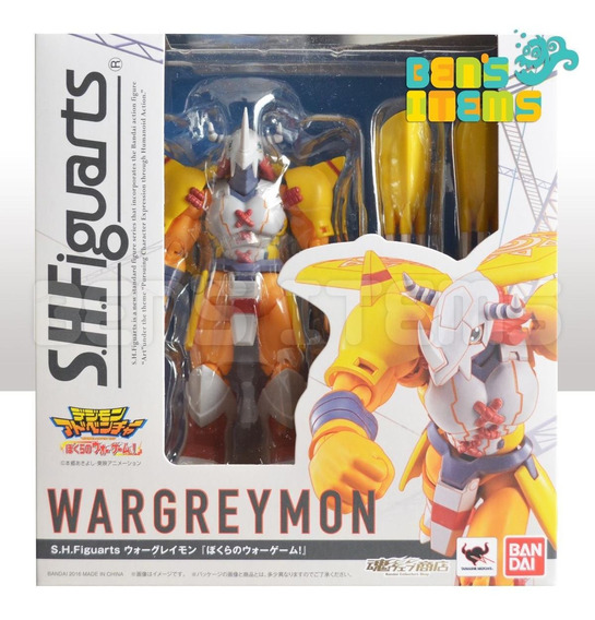 Sh Figuarts Wargreymon ( Digimon Our War Game) En Mano!!!