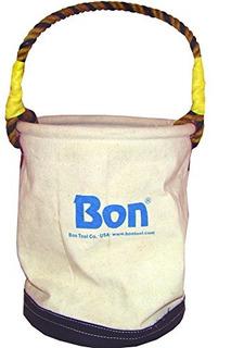 Bon 41102 Economy Canvas Tool Cubo Con Fondo De Cuero