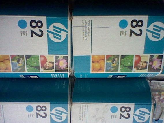 Tintas Originales Hp 82 Cyan C4911a Negociable