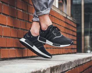 adidas Nmd R1 Black Primeknit Zapatillas Originales A Pedido