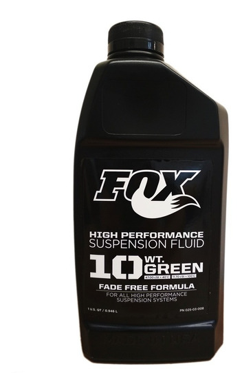 Aceite Fox 10wt Green Para Suspension 1 Litro Nueva Version