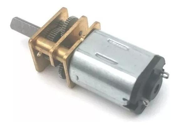 30 100 ~ 1500 Rpm N20 Micro Motor Dc 3v 6v 12v Caixa Redução