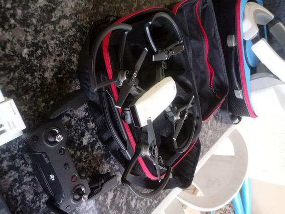 Kit Drone Dji Spark Fly More Combo + Oculos Dji Goggles